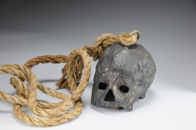 Bronze Skull Bell