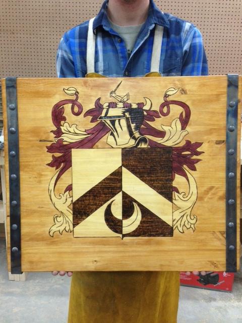 McCallister Sculpture - custom tray