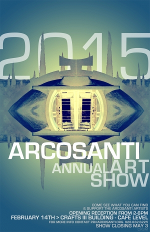 Arcosanti Annual Art Show 2015- Arizona - McCallister Sculpture