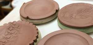 McCallister Sculpture - Easy Ceramics Plates