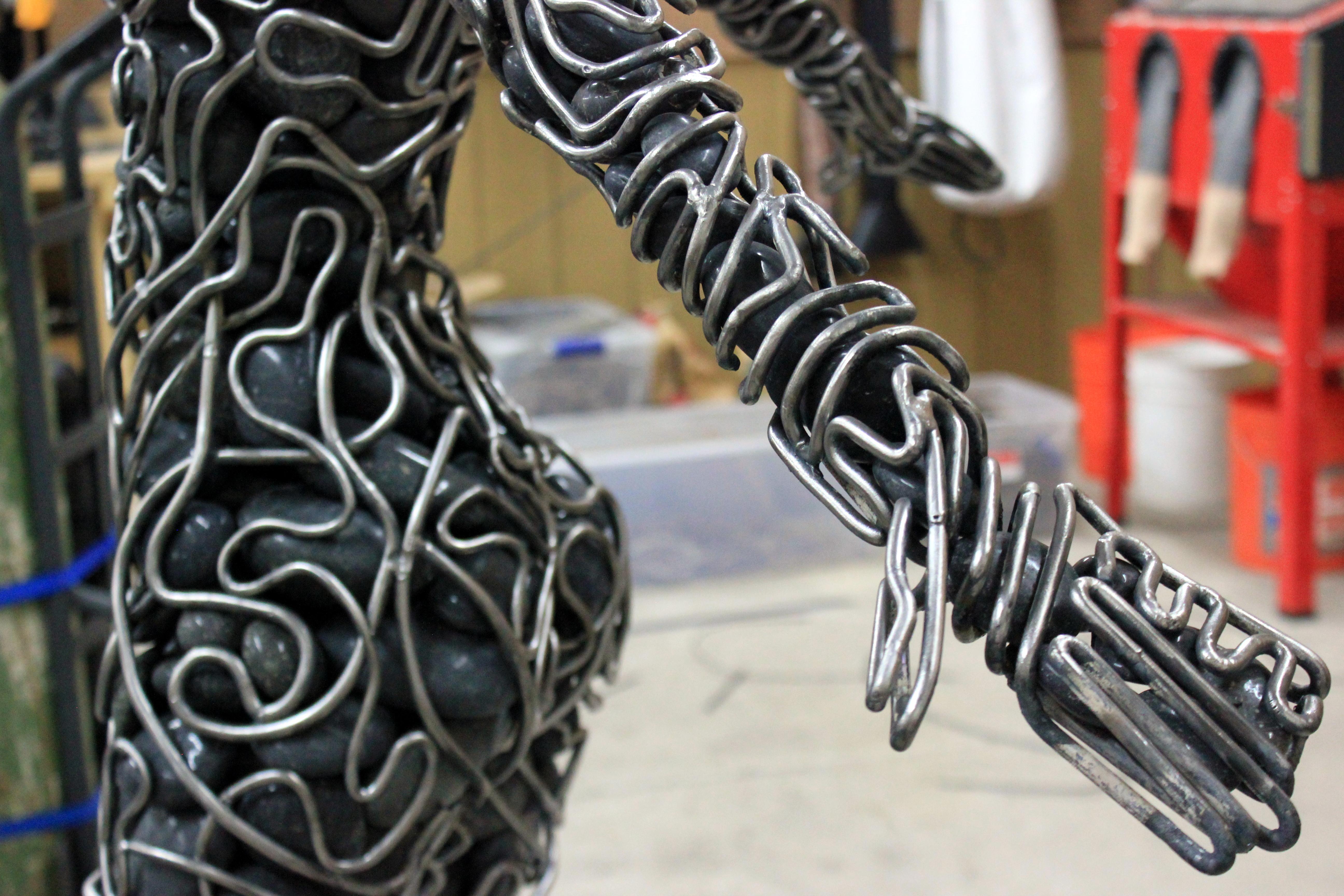 McCallister Sculpture - Woman Figure details