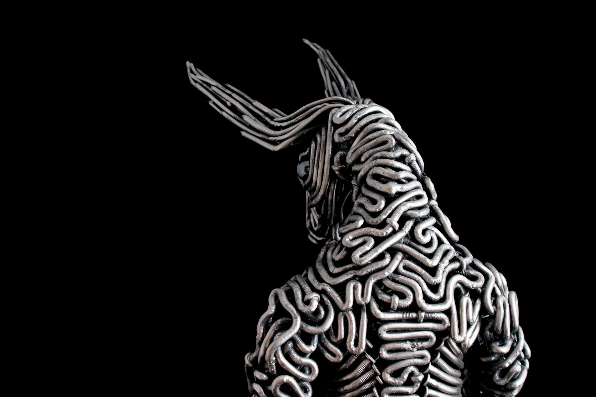 Minotaur Steel Sculpture - McCallister Sculpture - Arizona