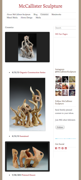 McCallister Sculpture - Archives