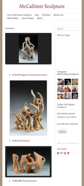 McCallister Sculpture - Archives
