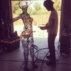 artist motivation - mccallister sculpture