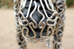 metalwork moose sculpture - mccallister sculpture - scottsdale artist - ryan mccallister