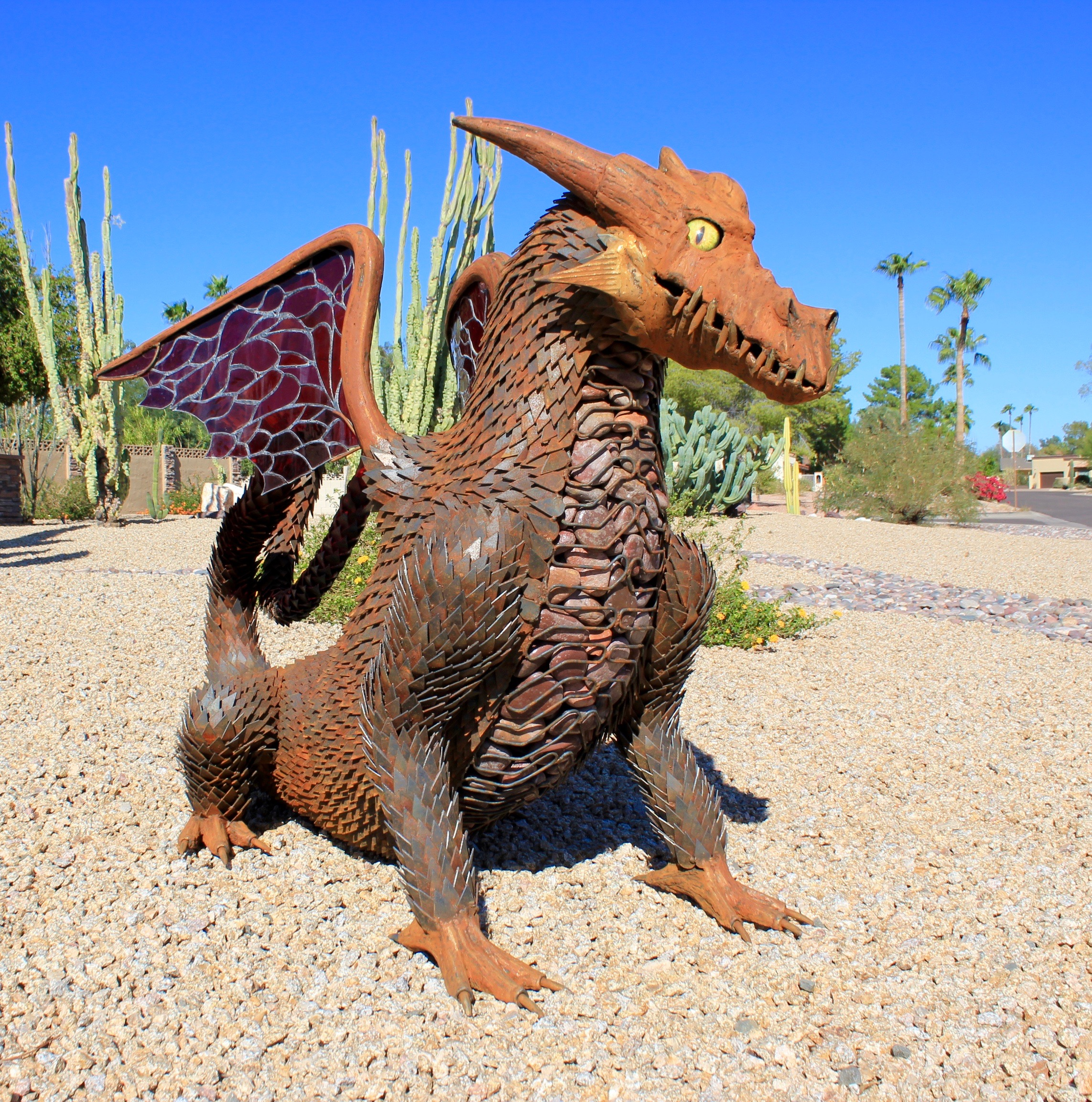scottsdale metal artist - mccallister sculpture - kur